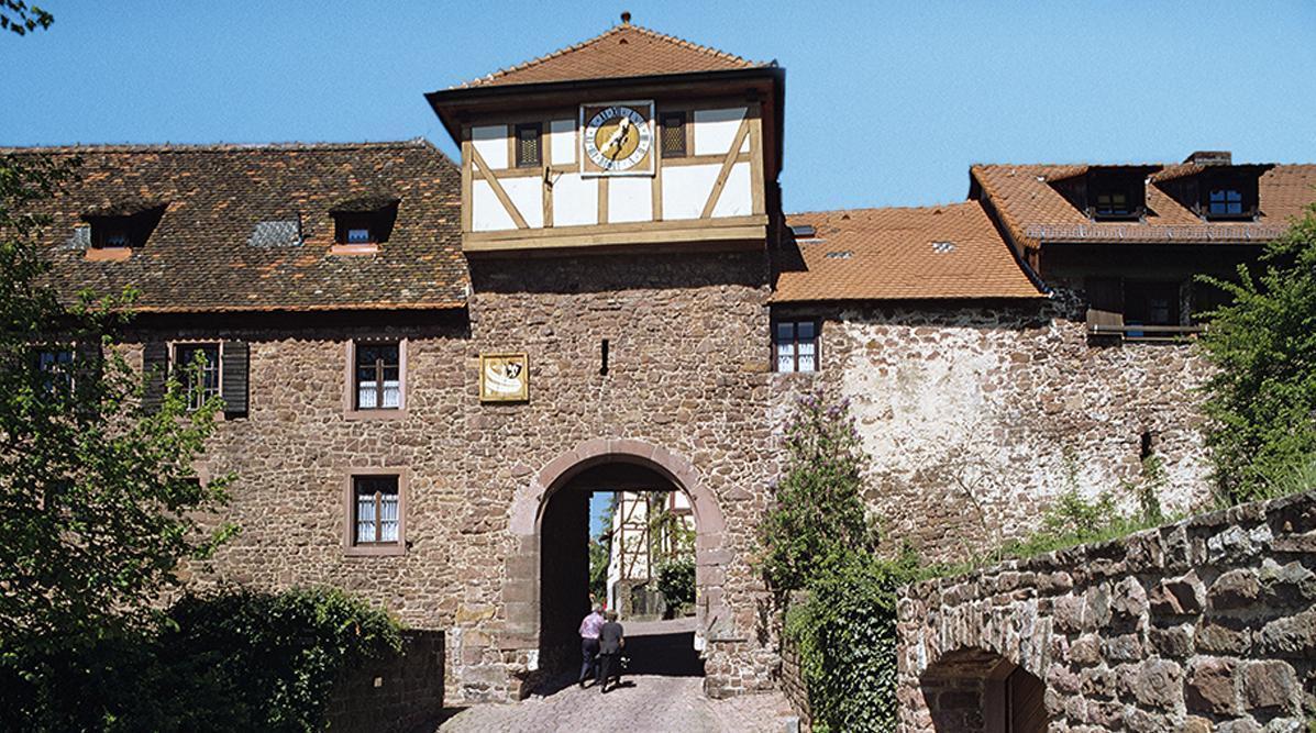 Stadttor von Dilsberg; Foto: Landesmedienzentrum Baden-Württemberg, Steffen Hauswirth
