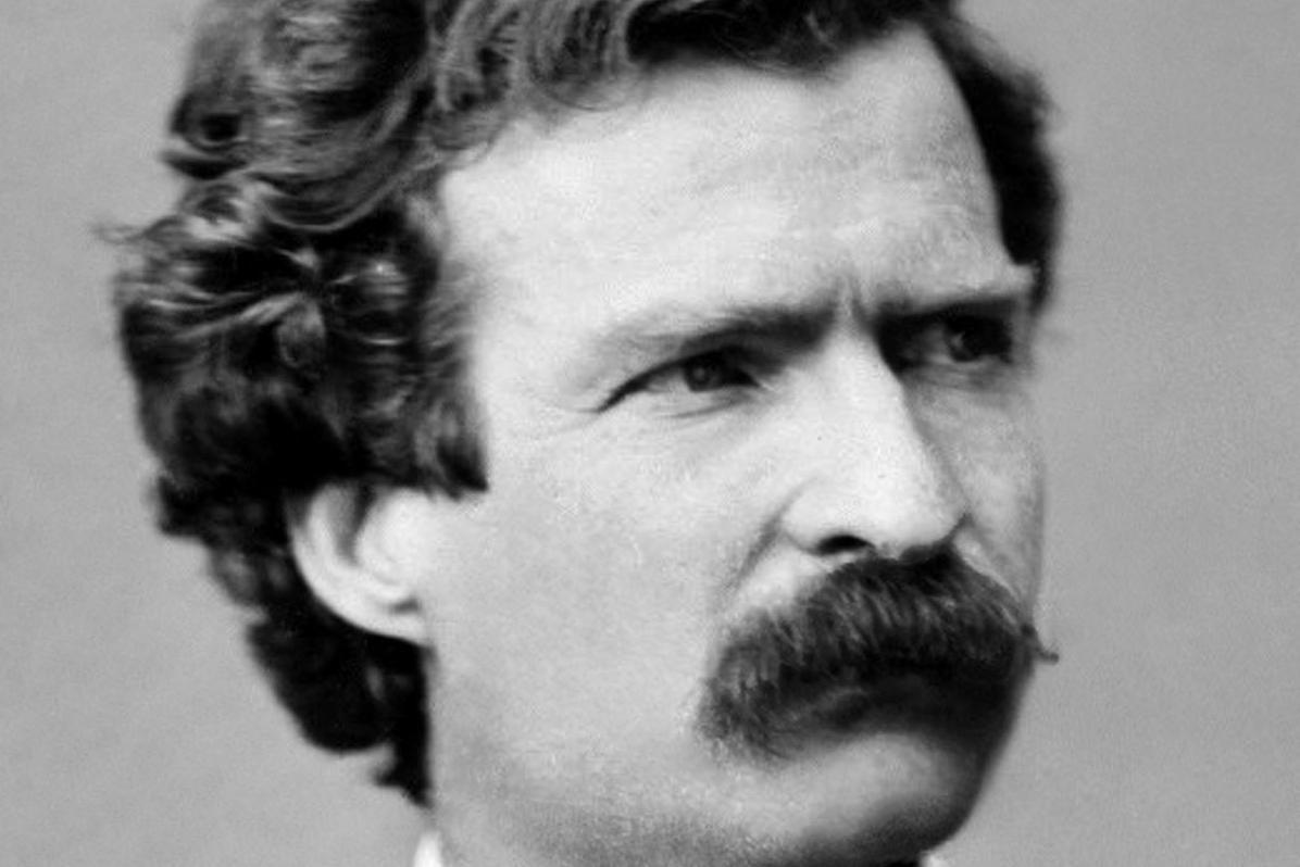 Mark Twain; Foto: Wikipedia, gemeinfrei