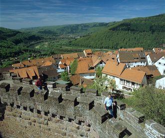 Blick auf die Stadt und ins Neckartal; Landesmedienzentrum Baden-Württemberg, Steffen Hauswirth