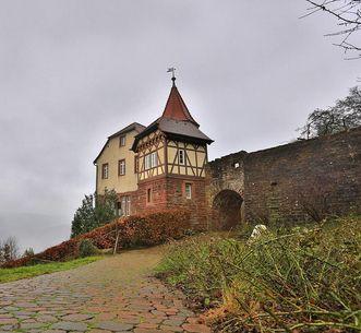 Kommandantenhaus der Burgfeste Dilsberg