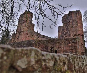 Hauptburg der Burgfeste Dilsberg