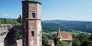 Burgfeste Dilsberg bei Neckargemünde