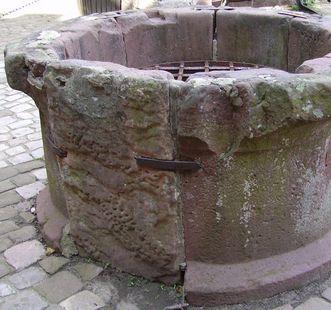 Burgbrunnen der Burgfeste Dilsberg