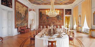 Château Baroque de Mannheim, antichambre d'apparat en argent